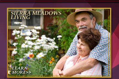 Learn more about living in Sierra Meadows